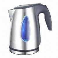 China Electric Kettle with 1.8L Capacity, Removable and Washable Filter on sale