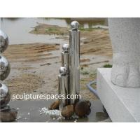 Stainless steel fountain water feature Manufactures