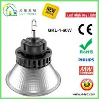 Explosion Proof IP54 High Bay LED Lighting 130 Lm/W With Aluminum Alloy Materials , 60 Watt Manufactures