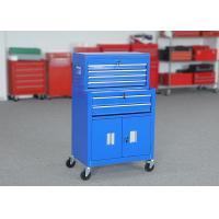 China Movable 24 Tool Chest Cabinet Combo With Door Lockable Color Customizable on sale