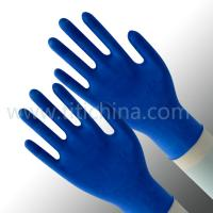 China Disposable dental examination latex glove for dental use, powder free white disposable dentist Latex Examination Gloves on sale