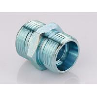 Metric Straight Thread Fittings , Male Bsp Threaded Pipe Fittings 1CB / 1DB Manufactures