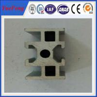 Quality Industrial aluminium alloy track profiles, OEM design U Shape Extruded aluminium for sale