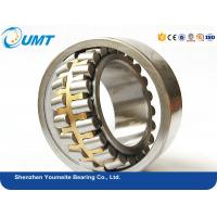 22208 Split Spherical roller bearing with brass steel cage / high precision ball bearings