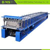 Klip Lok Roof Panel Roll Forming Machine 12-15m/min for Building Material Manufactures