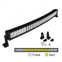 Super Slim Waterproof Curved 50 Inch 288W Offroad 12 Volt Led Light Bar With Diecast Aluminum Housing Manufactures