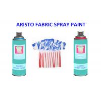 China Non toxic UV Resistance Fabric Spray Paint for Clothes , Waterproof Liquid Paint Spray on sale