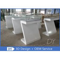 Durable Nice Modern Jewelry Display Cases / Jewellery Counter Display Manufactures