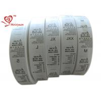 China 32 mm Eco friendly Custom Printed Ribbon Spool for packaging Heat Cut wholesale