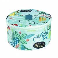 Round Design Undergarment Travel Bag / Travel Lingerie Organiser Lightweight for sale