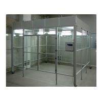 Aluminum Positive Pressure Soft Wall Clean Room Vertical Laminar Flow Booth Manufactures