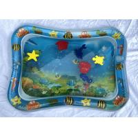 Interesting Inflatable Baby Water Mat Toy With Sea Animal /  Two - Chamber Manufactures