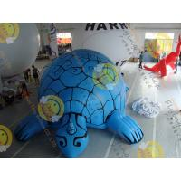 Digital Printing Blue Custom Shaped Balloons with Tortoise Shape made by 0.18mm PVC for Events SHA-16 Manufactures