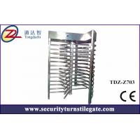 Semi automatic full height turnstile access control Security Gate system Manufactures