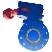 Quality Ductile Iron Half Ball Valve / Semi Ball Valve Anti Erosion For Control Water Flow for sale