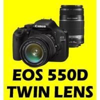 CANON EOS 550D 18-55 + 55-250 TWIN LENS CAMERA +16GB-digital cameras-canon camera Manufactures