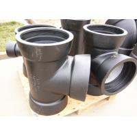 Cement Mortar Lining Ductile Iron Pipe Fittings T Type Or K Type Socket Tee Manufactures