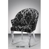 Metal chair, fabric paint mirror chair (YDC-04CR) Manufactures