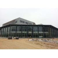 Wide Span Prefab Steel Frame Car Showroom With ISO Certificate Customized Size Manufactures