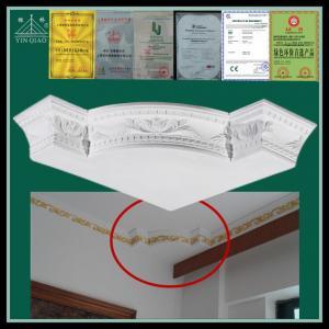 China Chinese interior decorative gypsum plaster corner decorations on sale