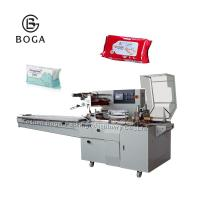 PE Film Baby Diaper Packing Machine Rotary Pack For Sanitary Towel  Easy Operate Manufactures