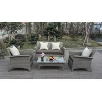 Hot Selling Comfortable PE Wicker Rattan Furniture Outdoor Sofa Set Manufactures