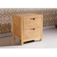 Practical 2 Drawer Bedside Table With Drawers , Family Cherry Wood Nightstand Manufactures