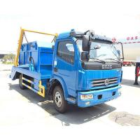 Diesel Fuel Type Waste Management Garbage Truck 4x2 With 95hp Engine Capacity Manufactures