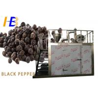 Black Pepper Food Pulverizer Machine With Human Oriented Electric Control Box Manufactures