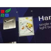 Magnetic LED Backlit Light Box A3 A4 Graphic Size With Cable Hanging CE Approved Manufactures