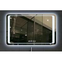 5mm Silvery LED Bathroom Mirror With Radio / Bluetooth Touch Screen Manufactures