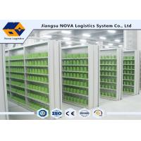 Custom Size Industrial Medium Duty Shelving With High Strength Closed Steel Panel Manufactures