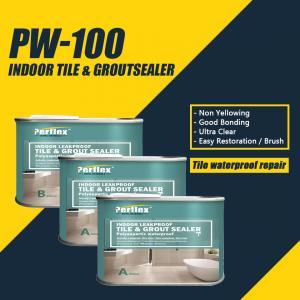 China Leakproof Tile Waterproofing Sealer , Ultra Clear Waterproof Tile Sealer Anti Slip on sale