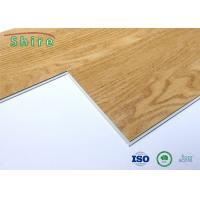 Uv Coated SPC Vinyl Plank Flooring Wood Grain Pattern With Wear Resistant Manufactures