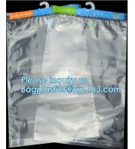 China Hanger Plastic Hook Bag for Packaging on Festivals,Hanger PVC bed sheet packaging bag with buttons,Stationery Set Transp on sale