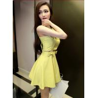 China Strapless Double Strap Wedding suits short casual ladies dresses for party on sale