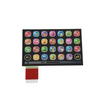 Custom Metal Dome Membrane Switch With Silk Screen Printing / custom membrane switches Manufactures