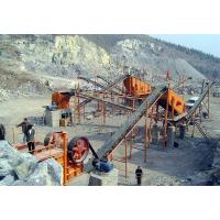 Construction Stone Crusher Machine , Stone Crusher Plant With Belt Conveyor