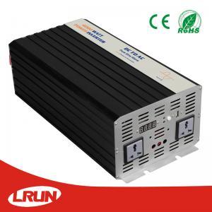 Pure Sine Wave Solar Power Inverter 4000W DC 12V, 24V to AC 120V or 220V connect  battery off grid solar system Manufactures