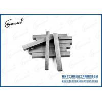 High Hardness 3×4×35 Ting Tungsten Carbide Strips For Tungsten Carbide Rod Blanks Manufactures
