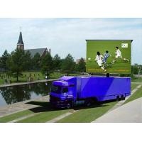 High Reliability Ultra Truck Mounted LED Display I-100D P10 Ultra Slim Cabinet Manufactures