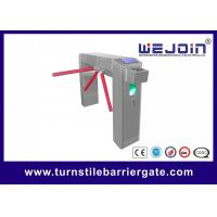 Outdoor Pedestrian Security Tripod Turnstile Gate Systems With Card Reader Manufactures