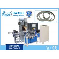 Inox Cookware Glass Lid Belt Automatic Welding Machine with belt conveying and cutting device Manufactures