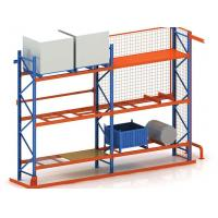 1.8mm Depth Certified Industrial Storage Rack For Tyres Fabric And Chemical Manufactures