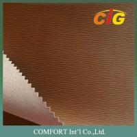 China Printing Press Based PU Emboss Leather for Book / Notebook Binding and Folders on sale