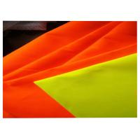 High Visibility Fluorescent Fabric Fireproof Fabric Materials Durable 380 Gsm Manufactures
