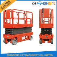 China Small Mobile Electric Hydraulic Lift Table for Rental / Material Handling / Aerial Work on sale