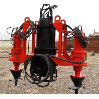 Low Pressure Submersible Slurry Pump Long Term Bearing Life Easy Operation Manufactures