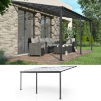 China Outdoor 100 UV Protected 12ft Aluminum Patio Covers on sale