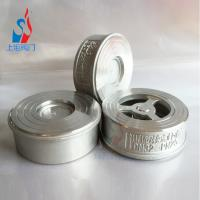 China Stainless steel counter-clip check valve spring-to-clip one-way valve 304 H71W pipe special valve on sale